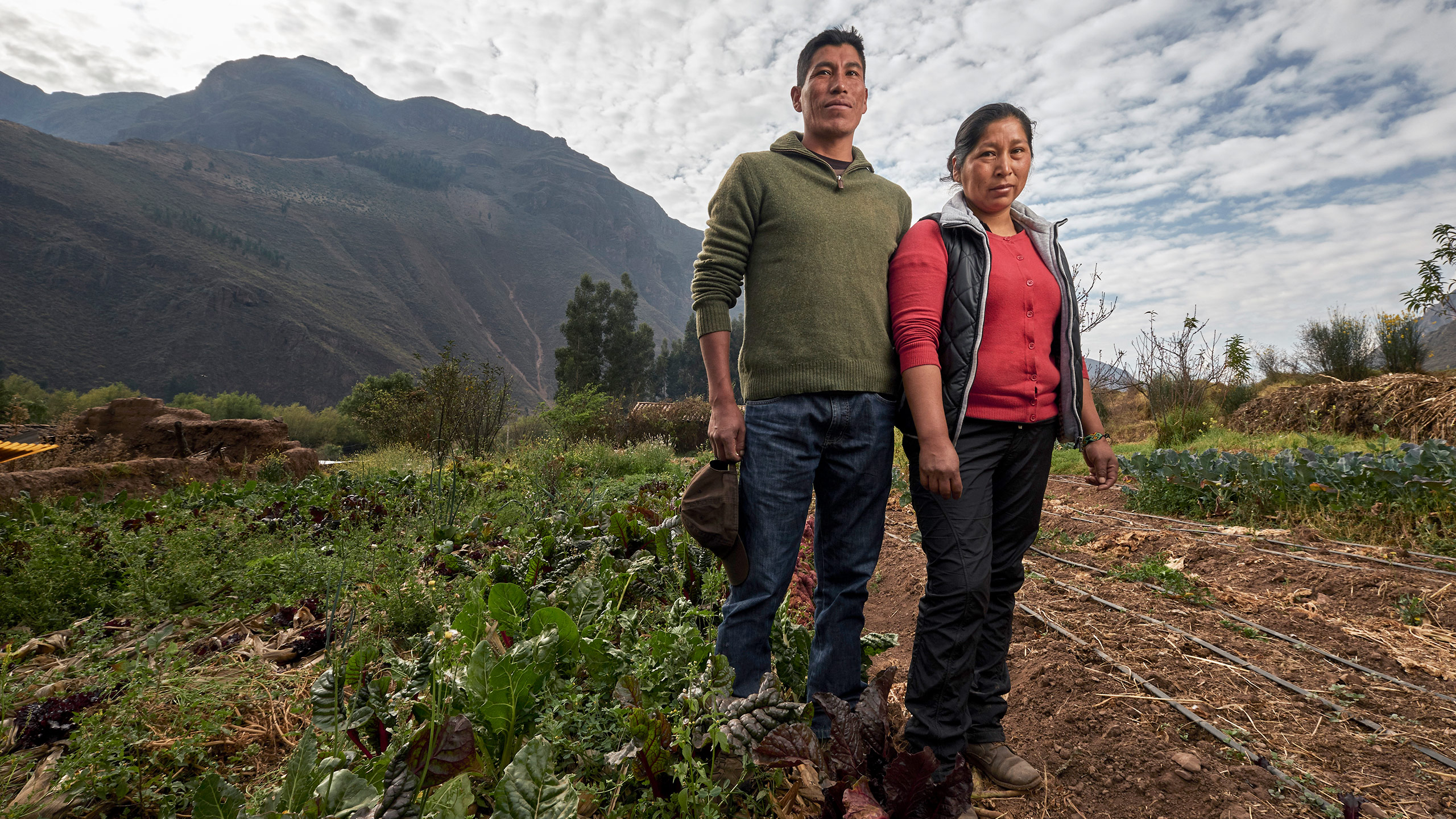 Julio Cesar Nina and Yésica Cusiyupanqui had seen numerous NGOs come and go in their native Peru. What they've experienced with the Andean Alliance is a different story.