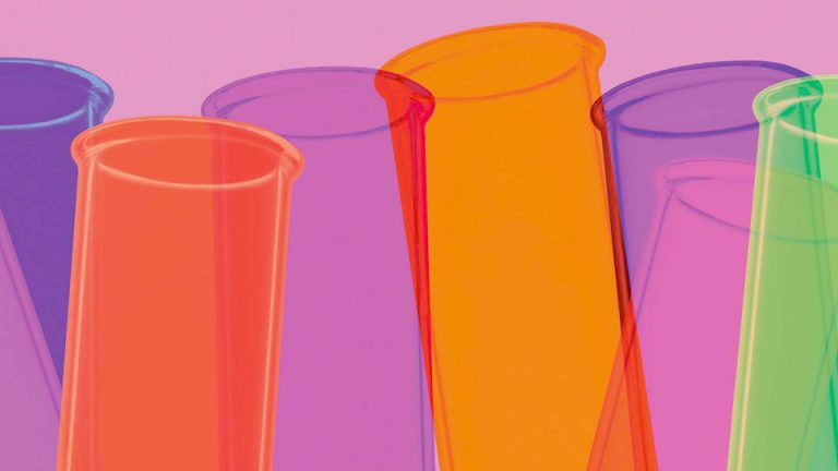 Illustration of test tubes